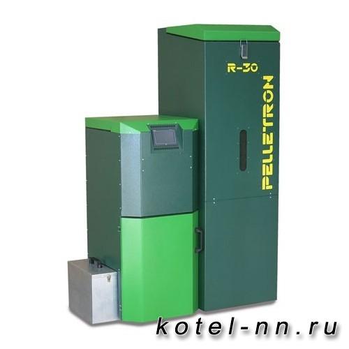 Пеллетный котел роботизированный Pelletron Royal 30