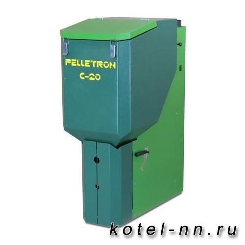 Пеллетный котел полуавтоматический Pelletron Compact-20