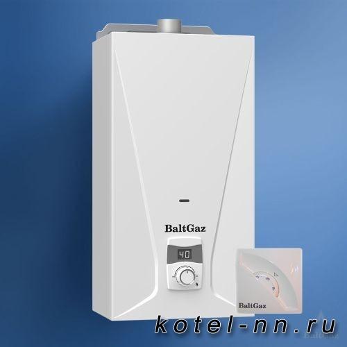 Газовый котел BaltGaz 17 Turbo серии Super Lux сж. газ с термостатом