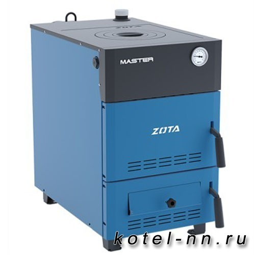 Твердотопливный котел ZOTA Master 18