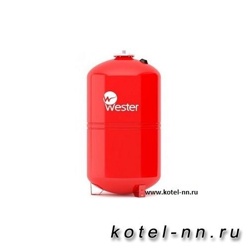 Расширительный бак WESTER WRV 80 л / 5 бар (сменная мембрана)