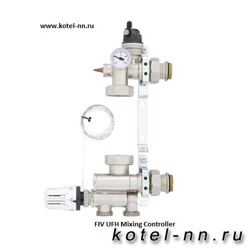 Насосно-смесительный узел для теплого пола FIV UFH Mixing Controller