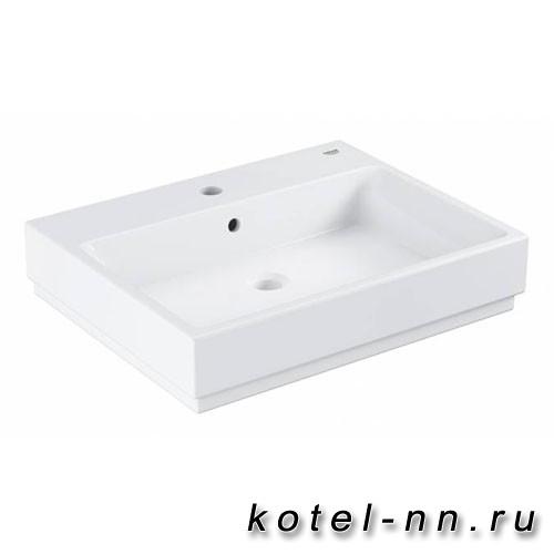 Раковина Grohe Cube Ceramic, подвесная 60 см, альпин-белый