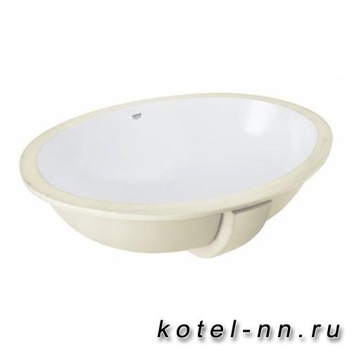 Встраиваемая раковина Grohe Bau Ceramic Universal 55 см, альпин-белый