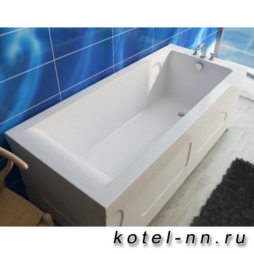 Ванна прямоугольная из литьевого мрамора Эстет Дельта 170 1700х800