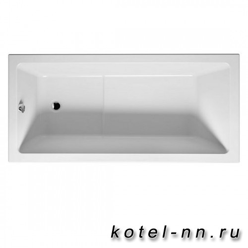 Ванна акриловая прямоугольная Riho LUSSO PLUS 170х80