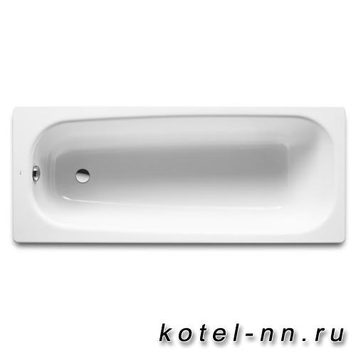 Чугунная ванна прямоугольная Roca Continental 170х70 противоскользящее покрытие