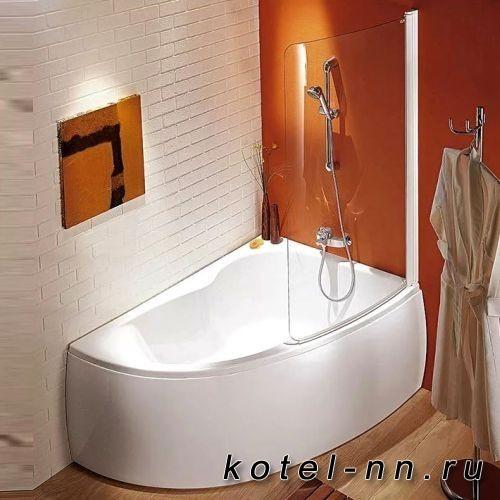 Ванна акриловая ассиметричная Jacob Delafon Micromega Duo 150x100 левая