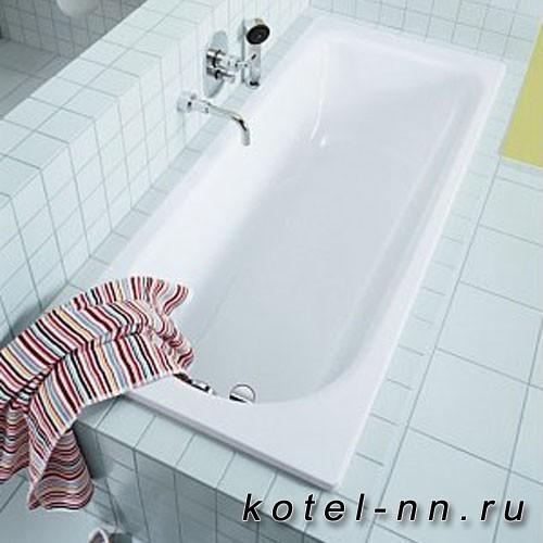 Стальная ванна прямоугольная Kaldewei Saniform Plus пустая Мод.362-1 160х70 белый