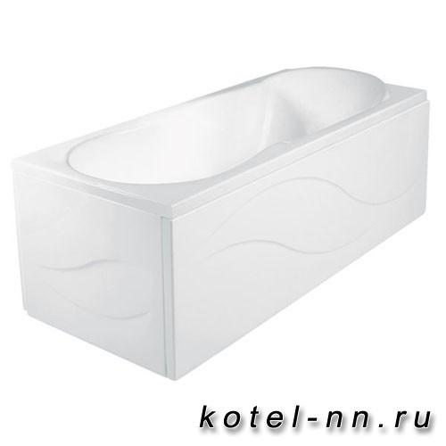 Ванна акриловая прямоугольная Jika Floreana XL 160х75 см, с каркасом в комплекте