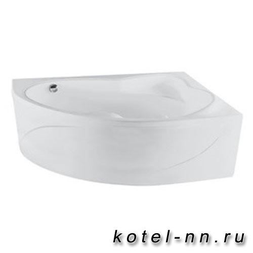Ванна акриловая угловая Jika Constance 170х115 см, левая, с каркасом в комплекте