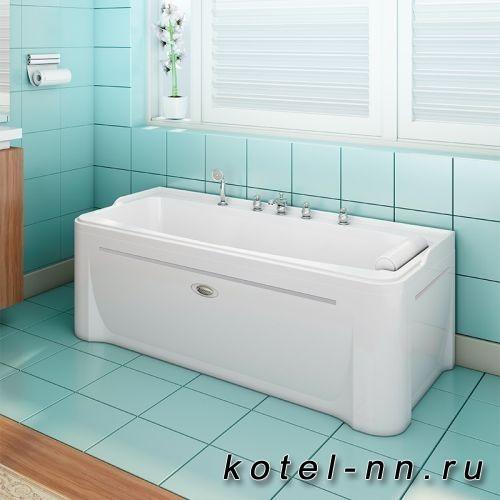 Акриловая ванна прямоугольная Radomir Винченцо Chrome
