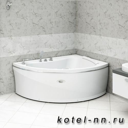 Акриловая ванна Радомир Альбена 168x120 R, с рамой-подставкой (1-01-0-2-1-015)