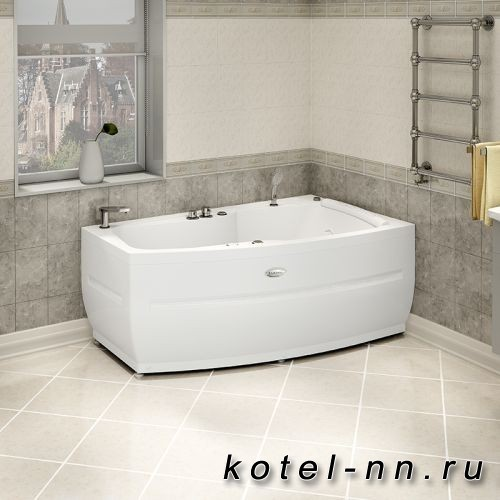 Акриловая ванна угловая Radomir Аризона Chrome