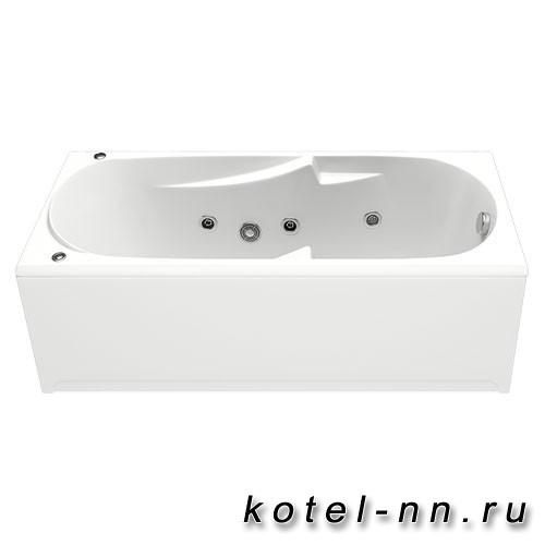 Акриловая ванна прямоугольная Bas Нептун 1700 x 700