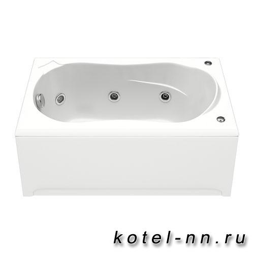 Акриловая ванна прямоугольная Bas Кэмерон 1200 x 700 без гидромассажа