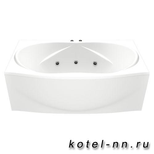 Акриловая ванна прямоугольная Bas Фиеста 1940 х 900 без гидромассажа
