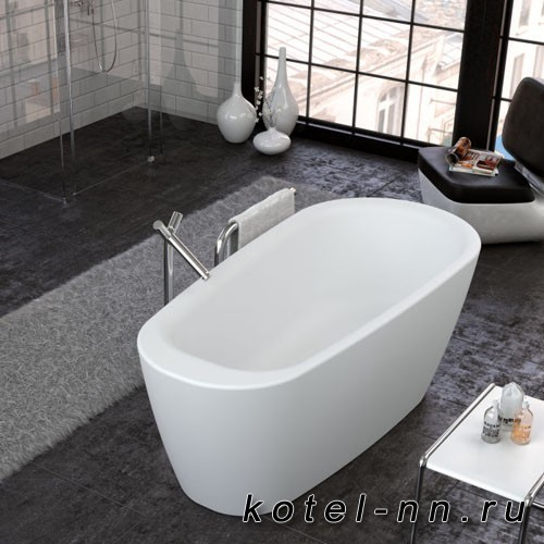 Акриловая овальная ванна Kolpa-San Adonis 180*80