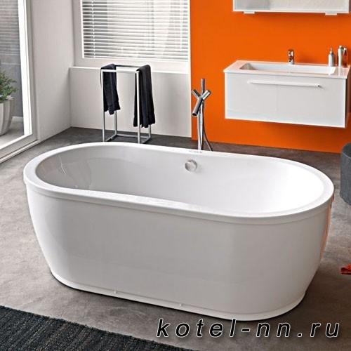 Акриловая овальная ванна Kolpa-San Libero 180*90 Basis