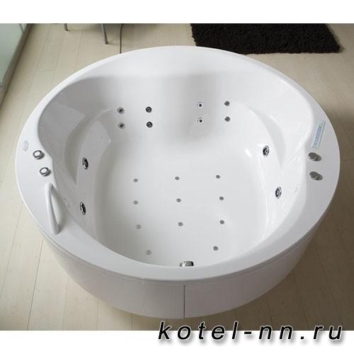 Акриловая круглая ванна Kolpa-San Opera 180, встраиваемая