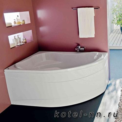 Акриловая угловая ванна Kolpa-san Lulu-D 170 -L, -D