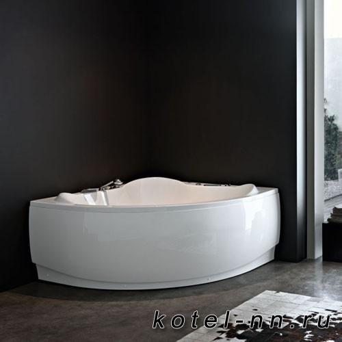 Акриловая угловая ванна Kolpa-San Loco 150, встраиваемая