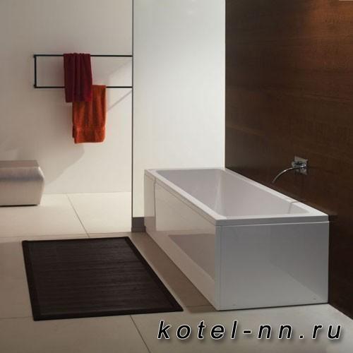 Акриловая прямоугольная ванна Kolpa-San Elektra 190, встраиваемая