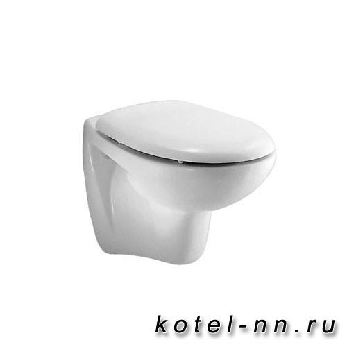 """Унитаз подвесной Ideal Standard """"Оcean"""" с сиденьем и крышкой, белый"""