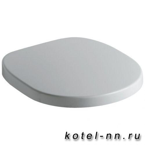 """Сидение и крышка для унитаза Ideal Standard """"Connect"""" стандартное (дюропласт), белое"""