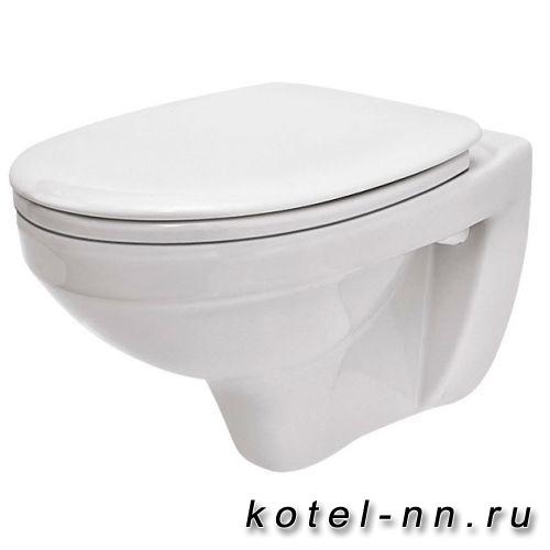 Унитаз подвесной Santek Бореаль с сидением в комплекте (дюро softclose)