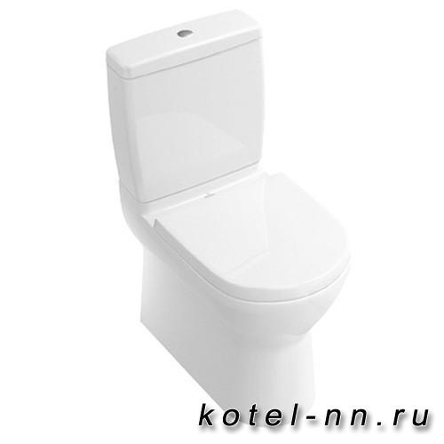 Унитаз, Villeroy&Boch O'Novo напольный, шгв 360*650*400, цвет-альпийский белый