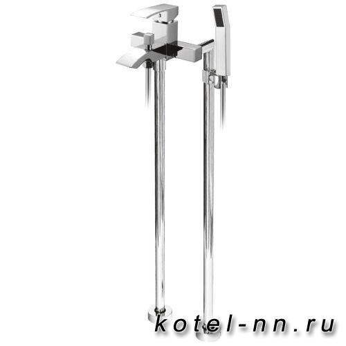 Смеситель для ванны Cezares напольный, арт. QUATTRO-VDP-01