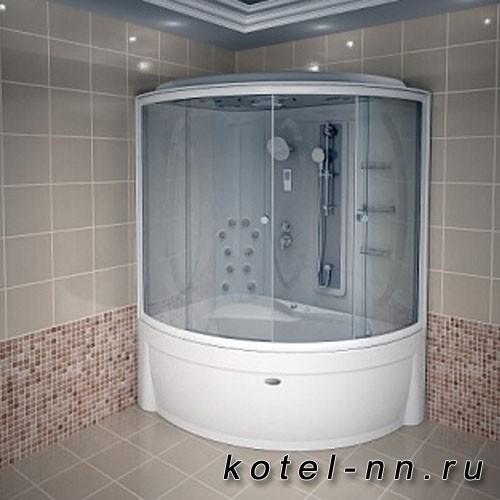 Душевая кабина Radomir Вирсавия комплектация 1 170х125 L матовые шторки