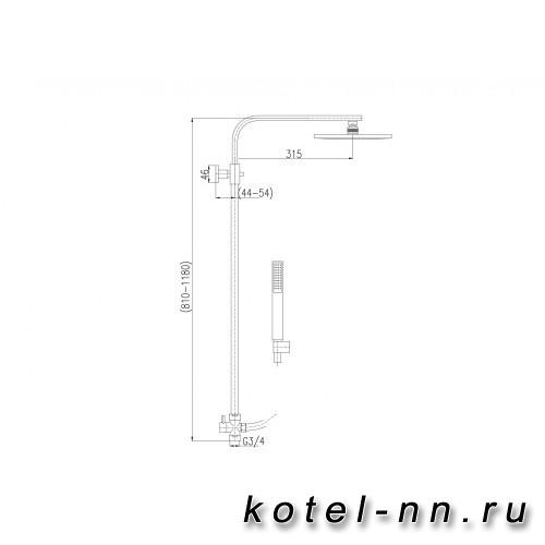 Душевой гарнитур Ravslezak Shower Sets