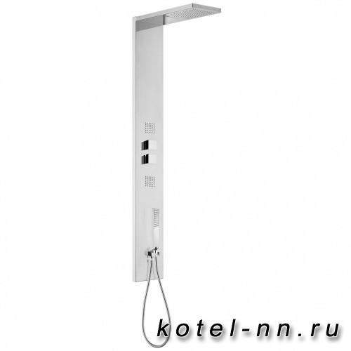 Душевая панель Bossini Manhattan -4 с термостатическим смесителем, с 4 функциями, хром