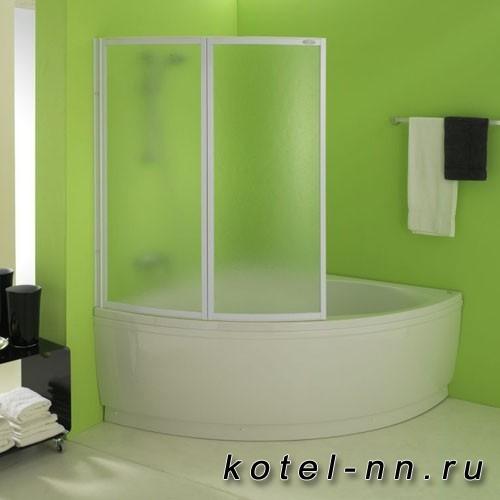 Шторка на ванну Kolpa-San Quat TP 105, 105х140
