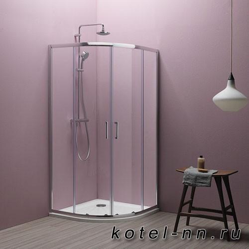 Душевой угол Kolpa-san Eco Quat TKP 90, 90x90х185