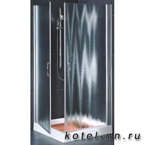 Душевой угол Vegas Glass EA, двойной распашной квадратный, 1900 мм