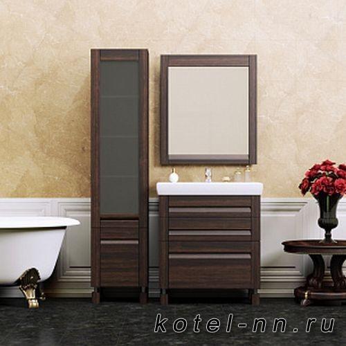 Мебель для ванной Opadiris Лаварро 70 напольная Венге