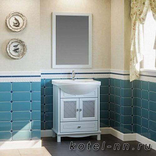 Мебель для ванной Opadiris Омега 65 Голубой