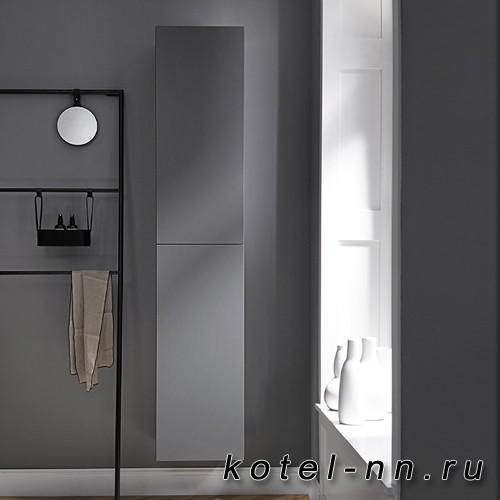 Подвесной шкаф Burgbad Coco 35x35x176 см, цвет серый