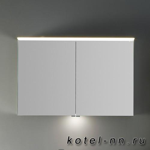 Шкаф зеркальный Burgbad Yumo 100x67.5x21 см, с подсветкой