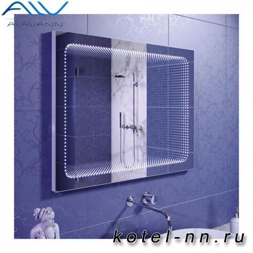Зеркало Alavann Infiniti с подсветкой 800х800