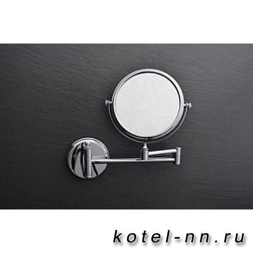 Зеркало Fixsen Hotel FX-31021 косметическое настенное хром