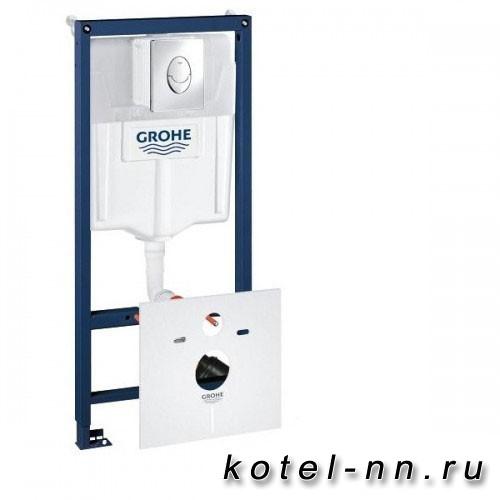 Инсталляция для унитаза Grohe Rapid SL 38750001 4 в 1