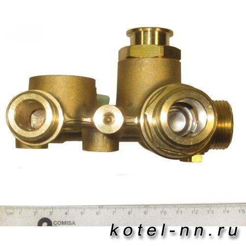 3-ходовой клапан в сборе для котлов Baxi ECO-3, Baxi LUNA-3, Baxi LUNA-3 COMFORT арт. 5680940