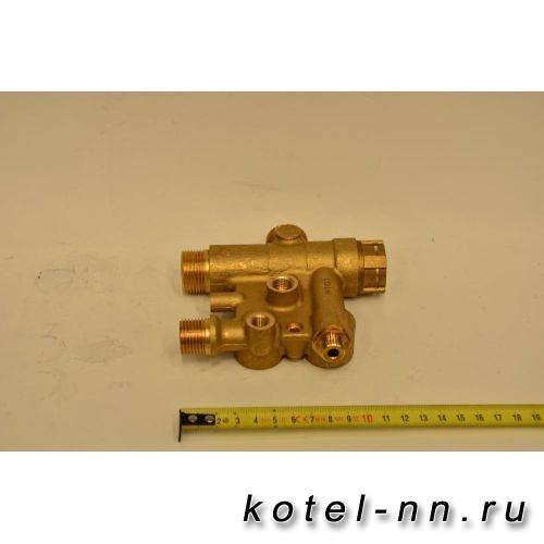 3-ходовой клапан в сборе для котлов Baxi ECO-3, LUNA-3, LUNA-3 COMFORT арт. 711606100