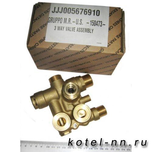 3-ходовой клапан в сборе для котлов Baxi ECO-3 COMPACT арт. 5676910