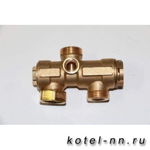 3-ходовой клапан в сборе для котлов Baxi NUVOLA-3, NUVOLA-3 COMFORT арт. 5663040