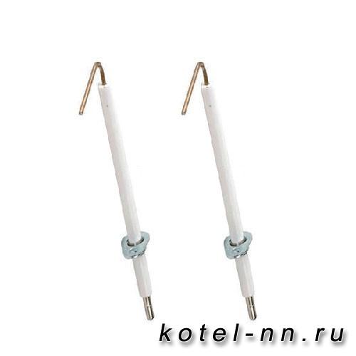 Электрод розжига и ионизации для котлов Ferroli (39819431) 39819430, 36702891
